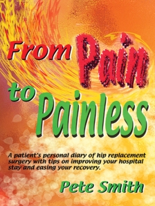 """From Pain to Painless"" book cover"